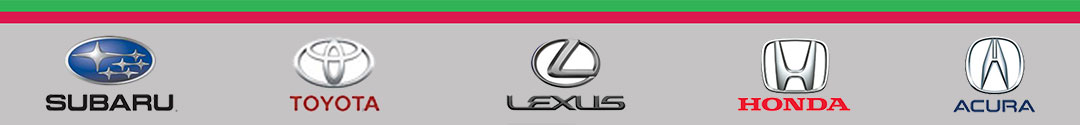 Home Page Auto Logos Bar